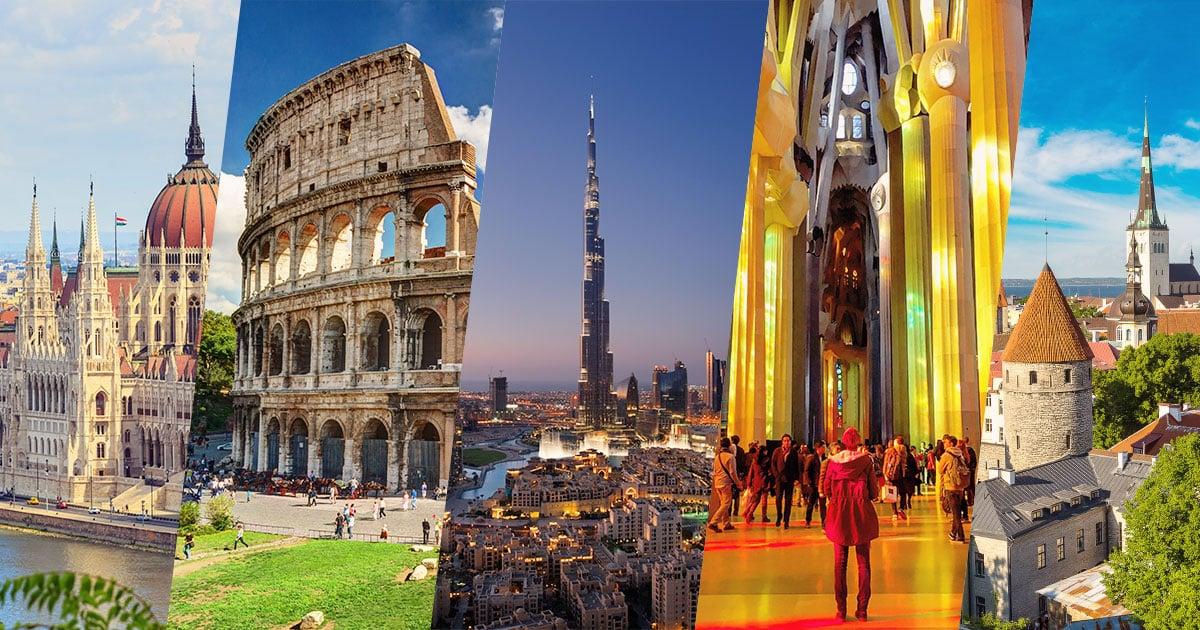 Quelle ville visiter en avril?